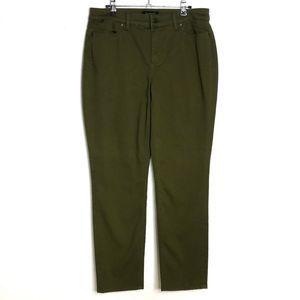 Talbots Flawless Five Pocket Slim Ankle Jeans